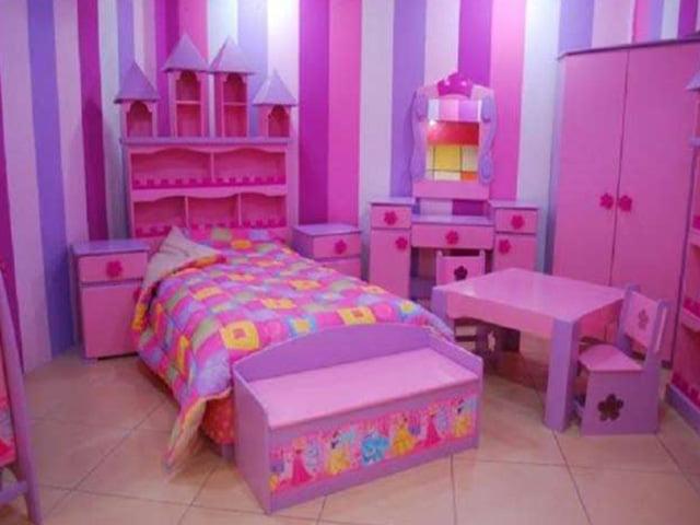 Juego de Dormitorio Niña