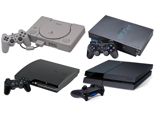 Playstation 1,2,3y4